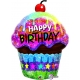 Birthday Dazzling Cupcake