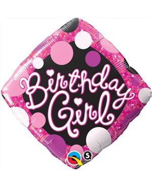 Birthday Girl Pink & Black
