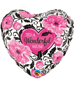 Wondeful Mum Floral Damask