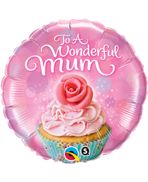 To A Wondeful Mum Cupcake