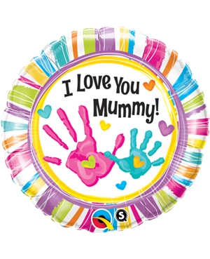 I Love You Mummy Handprints