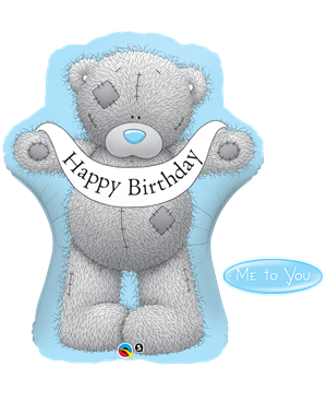 Me to You - Tatty Teddy Birthday Banner
