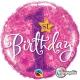 1st Birthday Stars Pink