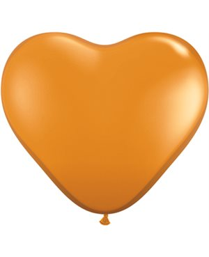 Mandarin Orange Heart
