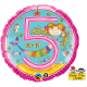 Rachel Ellen - Age 5 Mermaid Polka Dots
