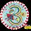 Rachel Ellen - Age 3 Super Hero Stripes