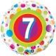 Age 7 Colourful Dots