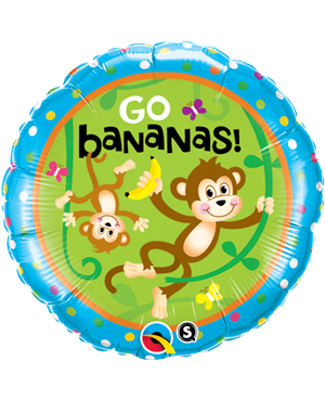 Birthday Monkeys - Go Bananas