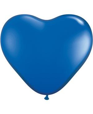 Sapphire Blue Heart