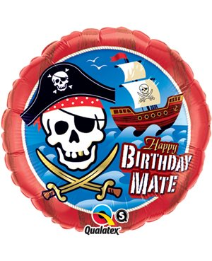 Birthday Mate Pirate Ship