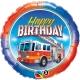Birthday Fire Truck