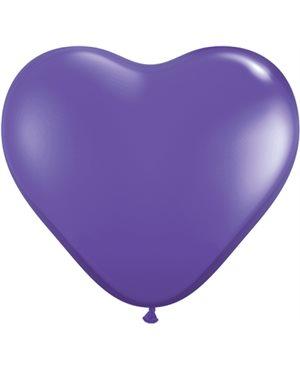 Purple Violet Heart