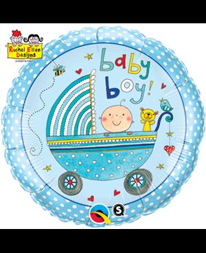 Rachel Ellen - Baby Boy Stroller