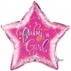 Welcome Baby Girl Stars - 36''