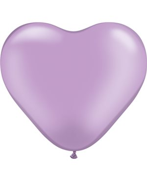 Pearl Lavender Heart