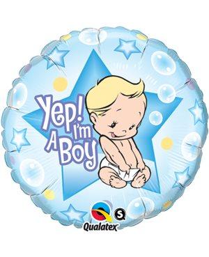 Yes! I'm A Boy