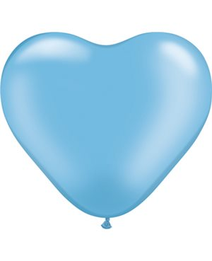 Pearl Azure Heart