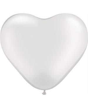 Pearl White Heart