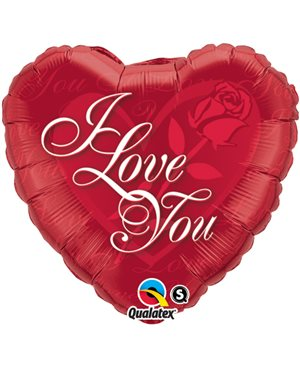 I Love You Red Rose