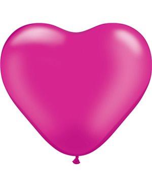 Pearl Magenta Heart