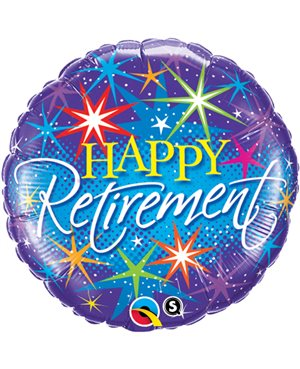 Retirement Colourful Bursts