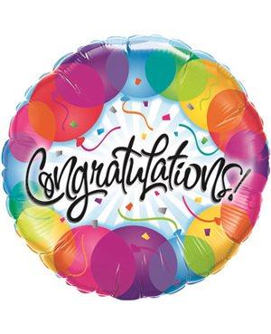 Congratulations Ballons