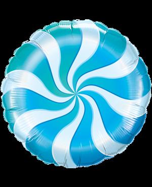 Candy Swirl Blue