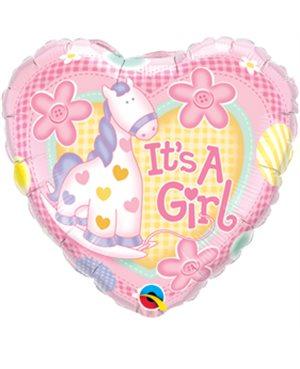 It's A Girl Soft Pony