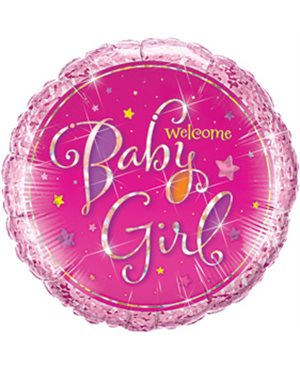Welcome Baby Girl Stars