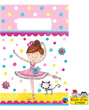 Ballerina Partyware Party Bags