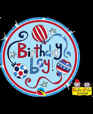 Rachel Ellen - Birthday Boy