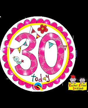 Rachel Ellen - Age 30 Perfect Pink
