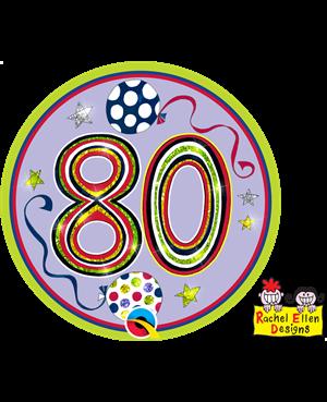 Rachel Ellen - Age 80 Happy Birthday