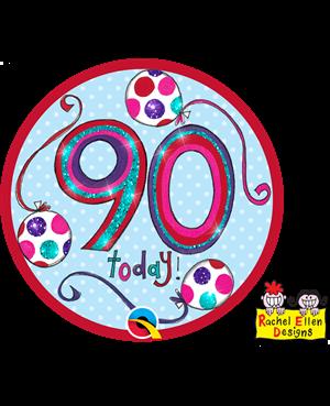 Rachel Ellen - Age 90 Happy Birthday