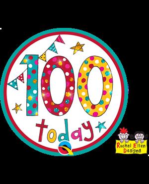 Rachel Ellen - Age 100 Happy Birthday