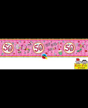 Rachel Ellen - Age 50 Perfect Pink
