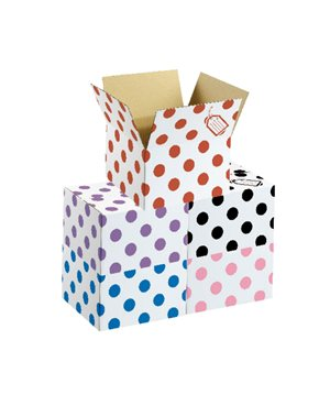 Polka Dot Box - Red