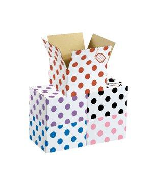 Polka Dot Box - Red