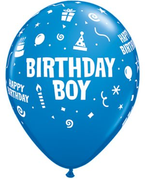 Birthday Boy - Dark Blue