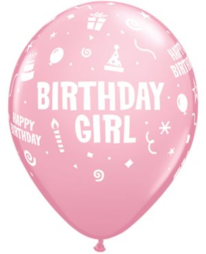 Birthday Girl - Pink