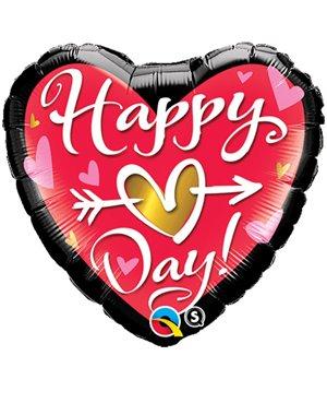 "Happy (Heart) Day! 18"" (Minimo 3 Unid)"