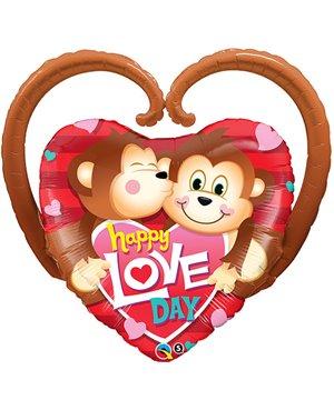 Happy Love Day Monkeys
