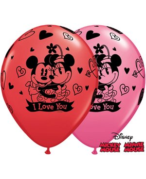Mickey & Minnie I Love You