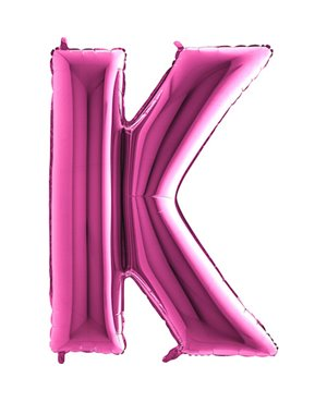 Letra K- Disponibles en 4 Colores - 2 Tamaños