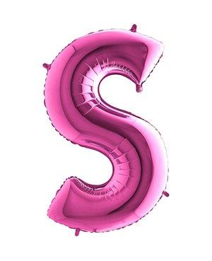 Letra S- Disponibles en 4 Colores - 2 Tamaños