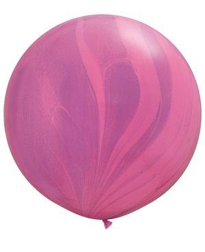 Pink Violet Rainbow SuperAgate