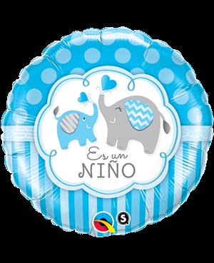 """Es un Niño Elefante 18"""" Minimo 3 unid"""