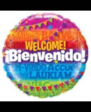 "Bienvenidos Languages 18"" Minimo 3 unid"