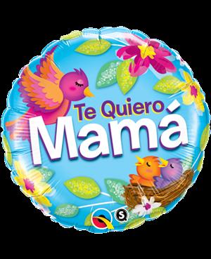 "Te Quiero Mama Nido 18"" Minimo 3 unid"