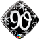 "90 Elegant Sparkles & Swirls 18"" ( Minimo 3 Unid )"